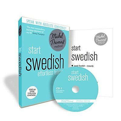 Start Swedish (Learn Swedish with the Michel T by Roger Nyborg CD-Audio Book New