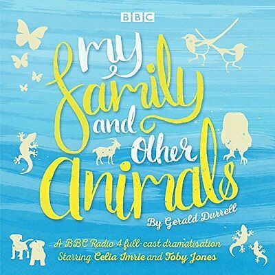 My Family and Other Animals by Gerald Durrell New CD-Audio Book