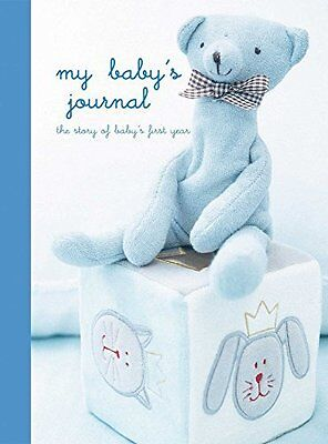 My Baby's Journal (Blue) by Ryland Peters & Small Record bo New  Book
