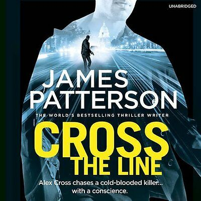 Cross the Line by James Patterson New CD-Audio Book