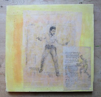 #2 Chris Morgan-Late 20th Century Mixed Media-Figurative-Portrait-Pop-Urban Art