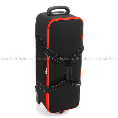Pro Professional Quality Standard Photo Equipment Case with Wheels Roller Bags