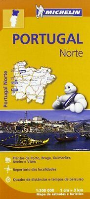 Portugal Norte New Sheet map  folded Book