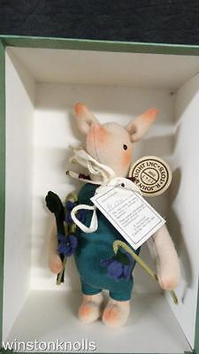 R. JOHN WRIGHT PIGLET WITH VIOLETS PV1741 of 2500 MIB