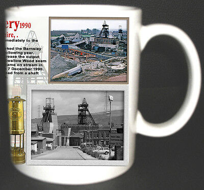 Treeton Colliery Coal Mine Mug. Limited Edition Gift Miners South Yorkshire Pit*