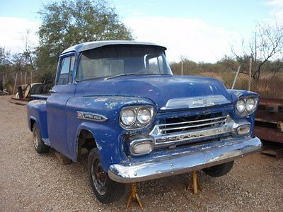 1959 Chevrolet Other Pickups 3100 1959 CHEVY 3100 STEPSIDE SHORTBED PICKUP TRUCK NR LOCATED IN AZ CHEVROLET