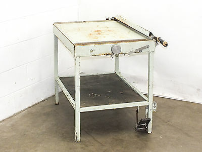 "Industrial Guillotine Paper Cutter Shear with Table 31.5"" x 23.75"""