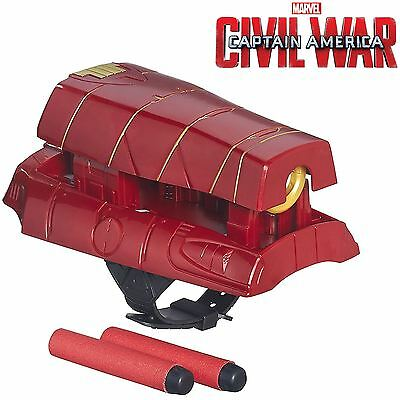 Marvel Captain America Civil War Iron Man Mission Gear Stark Strike Dart Blaster