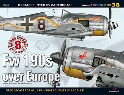 Fw 190s Over Europe by Maciej Goralczyk New Pamphlet Book
