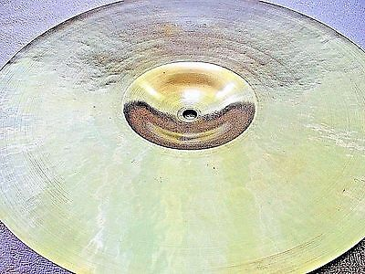 "VINTAGE Old 1950s 14"" PAISTE STANOPLE Thin CRASH CYMBAL *Superb 587g **WORLDSHIP"