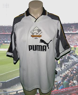 Derby County 1995-97 home shirt soccer camiseta maillot maglia football size XL
