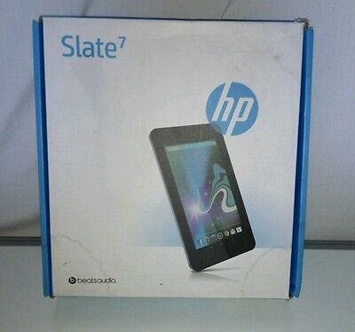 HP Slate 7 Tablet EMPTY BOX with leaflet .