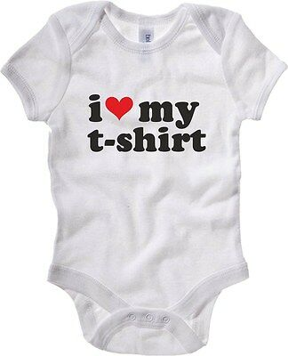 Baby Bodysuit T0011 I LOVE MY T-SHIRT