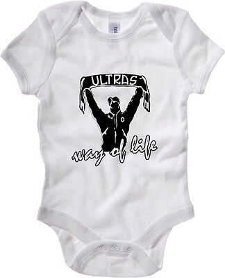 Baby Bodysuit T0283 ultras way of life calcio ultras