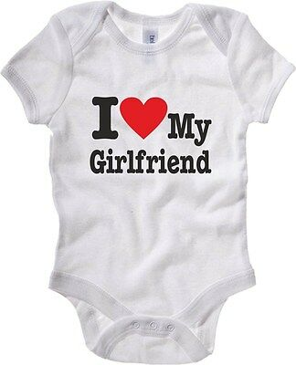 Baby Bodysuit T0342 i love girlfriend