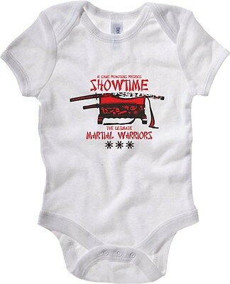 Baby Bodysuit T0401 showtime the ultimate martial warriors arti marziali