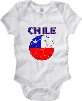 Baby Bodysuit T0705 chile calcio ultras