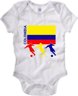 Baby Bodysuit T0706 colombia calcio ultras