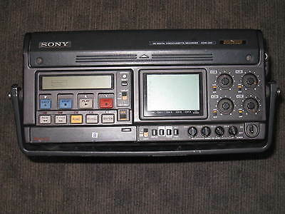 Sony HDW 250 HD Cam portable recorder player