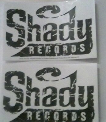 2x Shady Records official stickers.