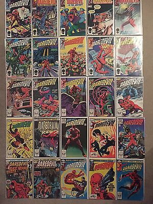 Daredevil #104 183 189 194 227 232 Frank Miller & More 46 Marvel Comics Job Lot