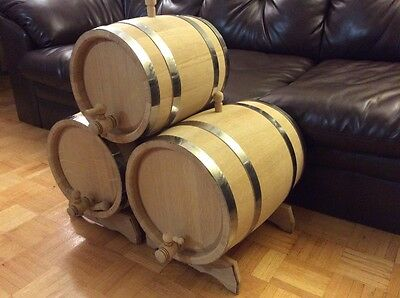 Oak Barrel 5 Gallons (23L )