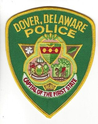 Dover DE Delaware Police Dept. LEO patch - NEW!  *STATE CAPITAL of FIRST STATE*