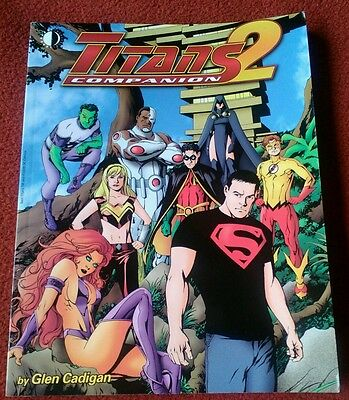 DC Comics Teen Titans Companion (Twomorrows Publishing)