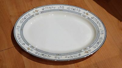 """Like New! Minton Penrose Large 16"""" Oval Serving Platter in Excellent Condition"""