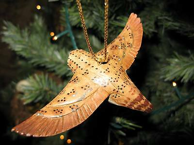 Vintage Lou Schifferl Barn Owl Hanging Ornament – Wonderful!!
