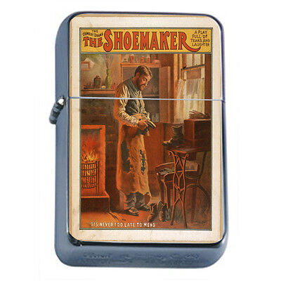 Vintage Poster D117 Windproof Dual Flame Torch The Shoemaker Comedy