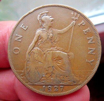 1927 One Penny George V th