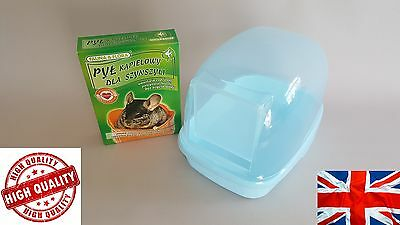 Ferret Bath Pool Chinchilla Degu Pet Dust Sand Bathroom Shower Hamster Mice Rat