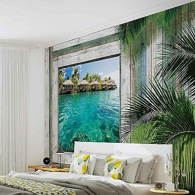 papier peint xxl paysage plage ref 1073wm eur 49 00 picclick fr. Black Bedroom Furniture Sets. Home Design Ideas