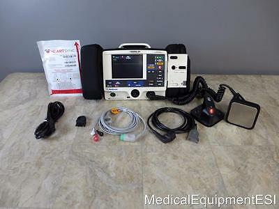 Physio Control Lifepak 20 Biphasic 3 Lead AED & Pacing with Paddles and Case