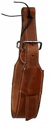 """Showman MEDIUM OIL 3"""" Wide Quality Leather Horse Flank / Back Cinch! HORSE TACK!"""