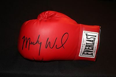 """Irish"" Micky Ward Autographed Authentic Everlast Boxing Glove JSA"