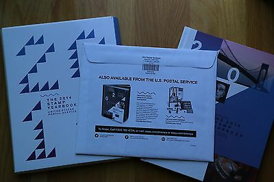 2014 USPS Stamp Collection Year Book Year Set with Sealed stamp packet