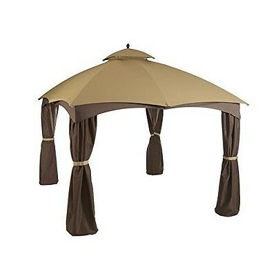 Replacement Gazebo Canopy 12x12 Outdoor Garden Patio Sunshade Polyester Cover  sc 1 st  PicClick & Replacement Gazebo Canopy 12x12 Outdoor Garden Patio Sunshade ...
