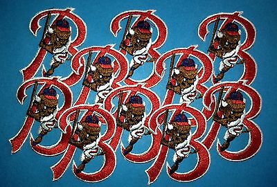 10 Lot Vintage Buffalo Bisons AAA Minor Leauge Baseball Iron On Hat Patches