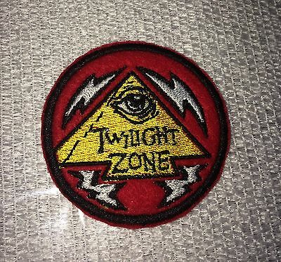 Bally Twilight Zone Pinball Arcade Embroidery Patch Custom Williams