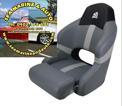 Marine Sports Bucket Boat Seat Chair Flip Up Relaxn Deluxe Comfy