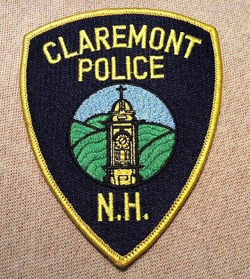 NH Claremont New Hampshire Police Patch