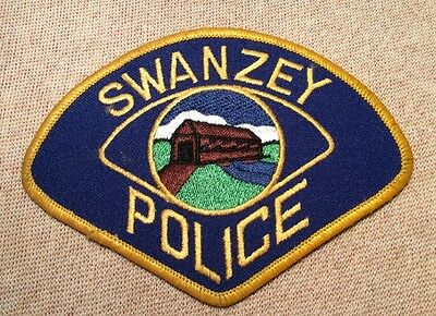 NH Swanzey New Hampshire Police Patch