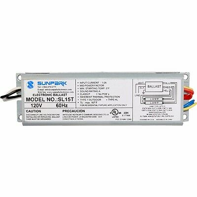 SL15T Sunpark 120 Volts Electronic Replacement Ballast RC