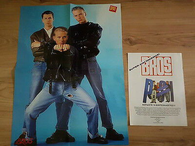 BROS - Clippings from France and Greece 1988 (Michael Jackson poster)