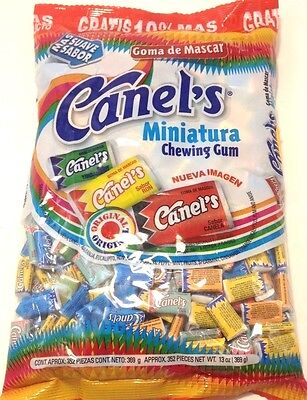 CANELS CHEWING GUM  NEW IMAGE Mexican candy Gum(352 pieces)