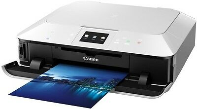 CANON Pixma MG7150 All-in-One White Wireless and USB Inkjet Printer