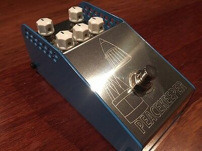 Thorpy Peacekeeper Boutique Overdrive Pedal - Hand Made in the UK - As New