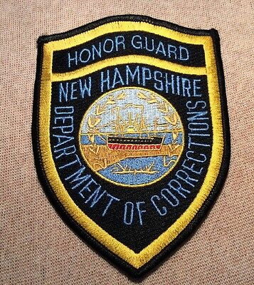 NH New Hampshire State Department of Corrections Honor Guard Patch